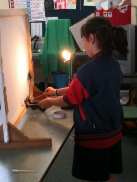 School puppetry workshops